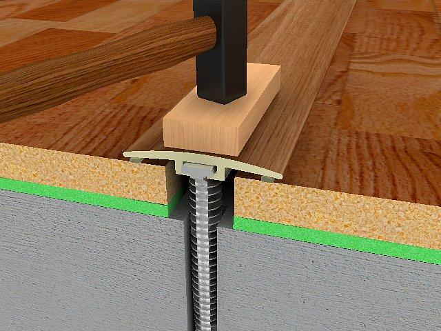 podlahové lišty
